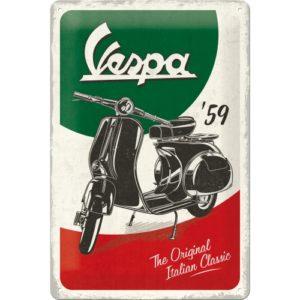 Blechschild 20x30cm Vespa- The Italien Classic