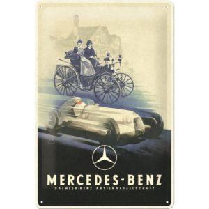 Blechschild 20x30 cm Mercedes-Benz