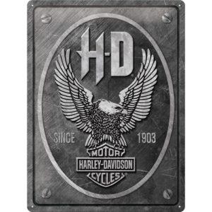 Blechschild 30x40cm Harley-Davidson Metal Eagle