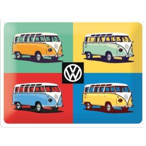 Schild VW Bus Nostalgic Art
