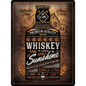 Blechschild 30X40cm Whiskey