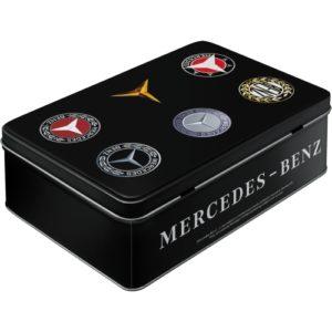 Vorratsdose flach Mercedes Benz