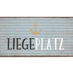 La Vida Schild Liegeplatz 390811