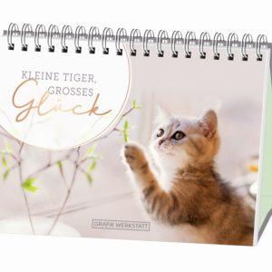 Spiralkalender Kleine Tiger, großes Glück 6107