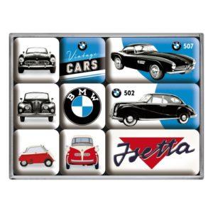 Magnetset (9teilig) BMW