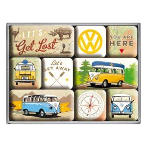 Magnetset VW Bus Let's get lost