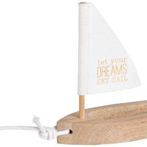 Räder Geschenkartikel Boot weiß Dreams 14981