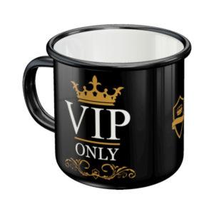 Emaille Tasse VIP