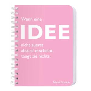 Notizbuch Spirale A6 Idee