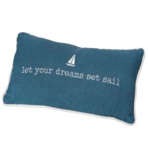 Traumkissen Räder, Let your dreams set sail