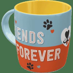 Tasse Hund Friends forever 43049