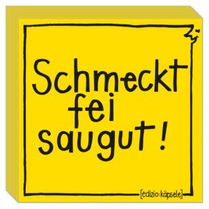 57064_Servietten_Schmeckt_fei_saugut