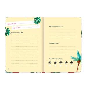 Du & Ich, Unser Reisetagebuch zum Ausfüllen
