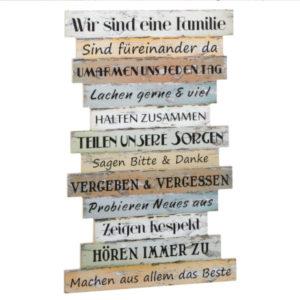 Bild Familienregeln, wir sind eine Familie aus PDF
