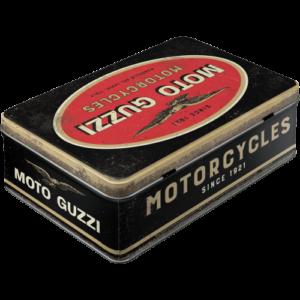 Vorratsdose flach Moto Guzzi
