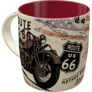 Tasse Route 66 Bike Map