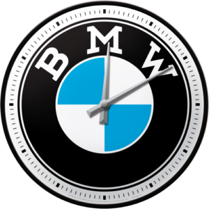 Wanduhr 31 cm BMW