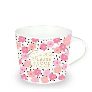 Tasse Porzellan Gute Laune Tasse