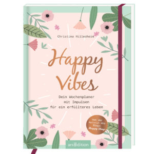 Hillesheim, Happy Vibes Wochenplaner.