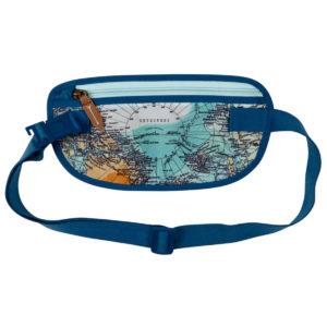 Hüfttasche Weltkarte