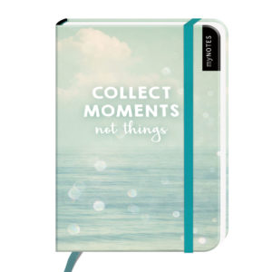 Notizbuch klein collect moments not things