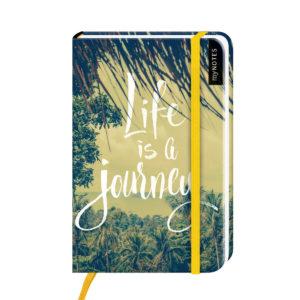 Notizbuch klein- Life is a journey