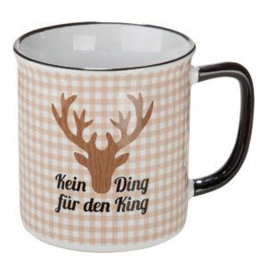Tasse kein Ding für den King
