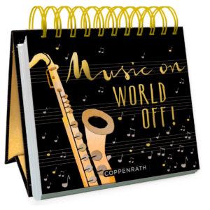 Aufsteller Musik on World off