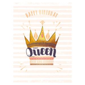 Musikkarte Party-Queen