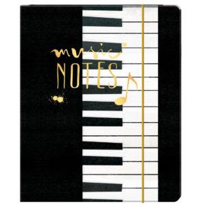 Sammelmappe A4 Music Notes