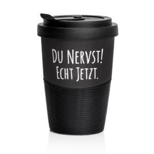 Coffee to go du nervst!
