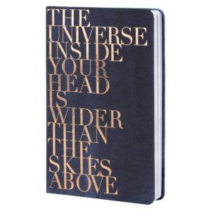 Notizbuch Räder The Universe