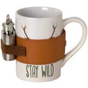 Becher Keramik Stay wild