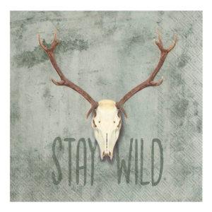 Serviette Stay Wild