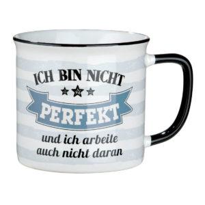 Tasse Ich bin nicht perfekt