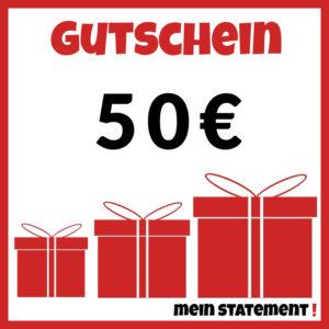 Geschenkgutschein kaufen 50 Euro