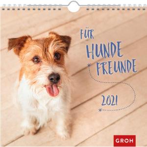 Wandkalender für Hundefreunde 2021