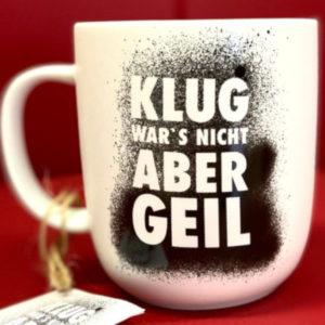 Klug war's nicht Tasse