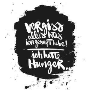 Serviette Hunger!