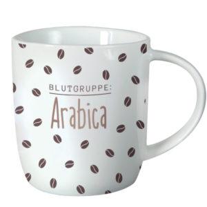 Tasse Blutgruppe Arabica