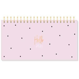 Tischkalender Hello