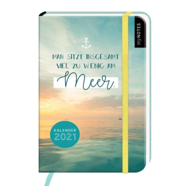 Kalender man sitzt zu wenig am Meer