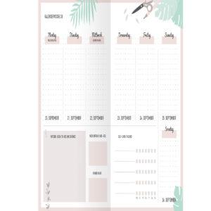 bullet journal kalender