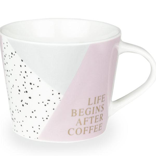 tasse Life begins after coffee