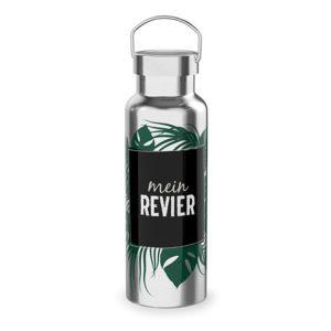 Thermoflasche Mein Revier