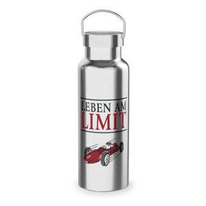Thermoflasche Leben am Limit