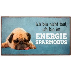 Schild Energiesparmodus