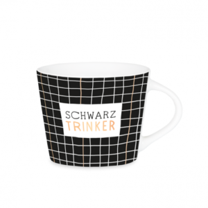 Espresso Tasse Schwarz Trinker