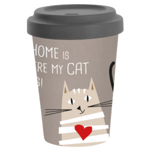 Coffee to go Home is Cat
