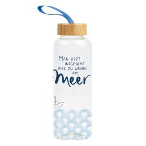 Trinkflasche Meer